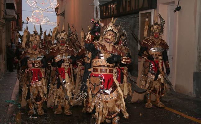 Bocairent inicia sus fiestas de Moros y Cristianos