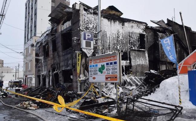 Un incendio en una residencia de ancianos en Japón deja once muertos