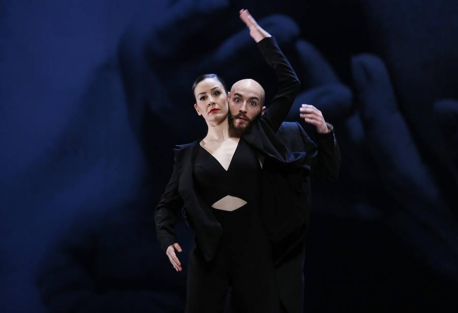"""Ensayo del espectáculo de danza """"Man Ray"""" en el Teatro Principal de Valencia"""