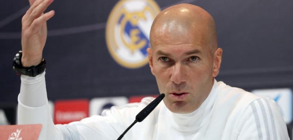 Zidane: «Yo no creo que la Liga esté sentenciada»