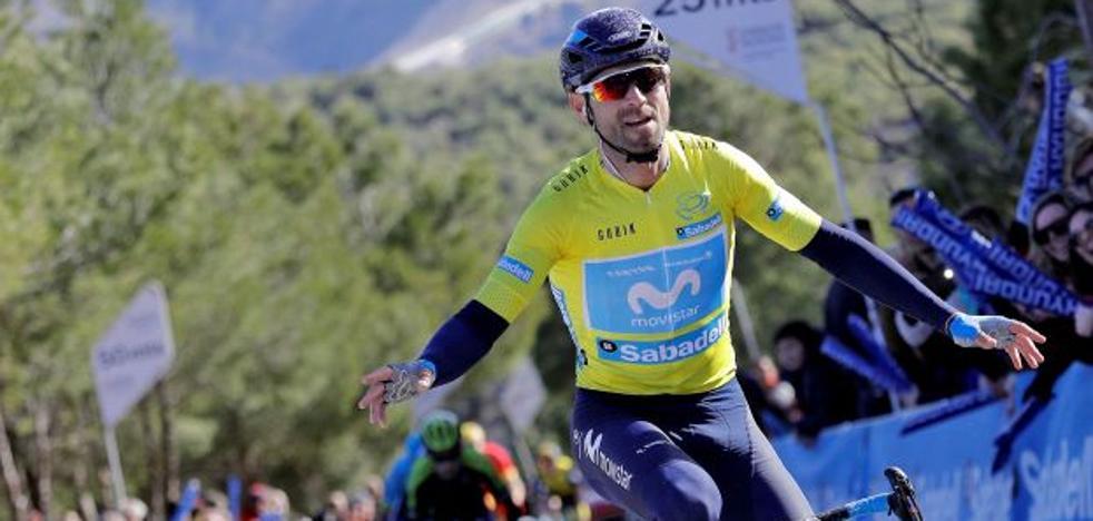 Alejandro Valverde, virtual ganador de la Volta a la Comunitat