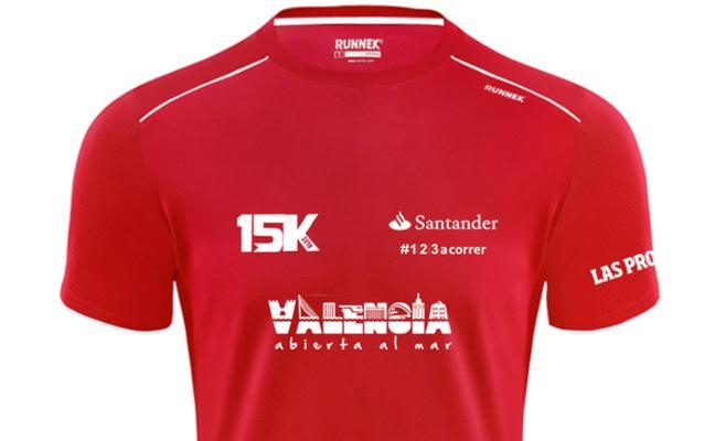 Una camiseta a la altura del primer gran fondo del año en Valencia