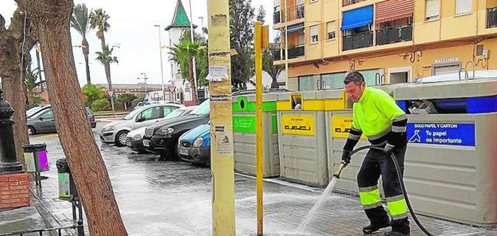 Inician la limpieza específica de las calles