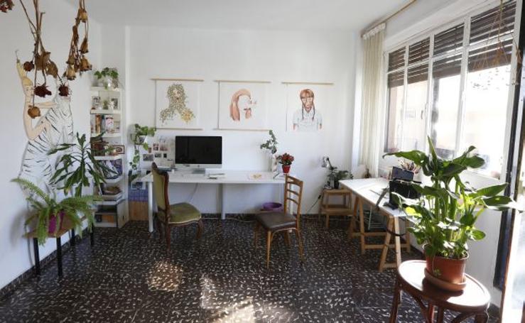 Fotos de la casa-estudio de Belén Segarra