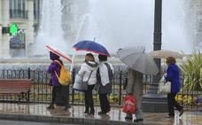El martes se esperan lluvias débiles en toda la Comunitat y nieve a partir de los 400 metros
