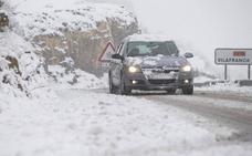 Carreteras cortadas por la nieve y restricciones al tráfico por la nieve en la Comunitat