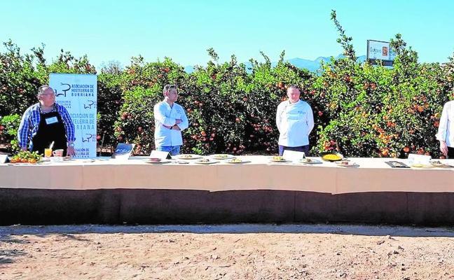 Las jornadas gastronómicas de Burriana ensalzan la naranja