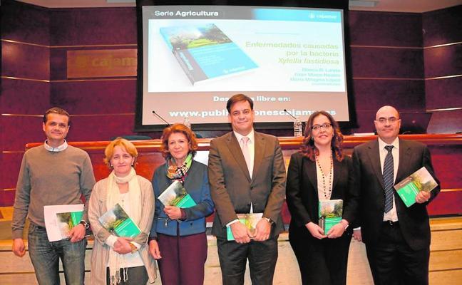 El libro sobre la Xylella fastidiosa reúne a más de 200 profesionales