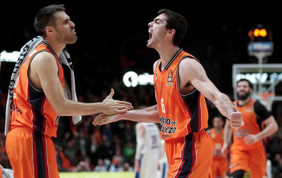 Fotos del Valencia Basket-CSKA Moscú