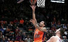 Victoria espectacular del Valencia Basket (103-99)