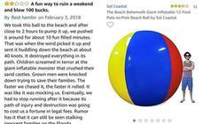 La reseña más triste de Amazon: «Una divertida manera de arruinar tu fin de semana»