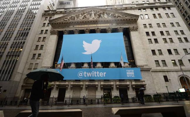 Twitter logra beneficios y las acciones se disparan