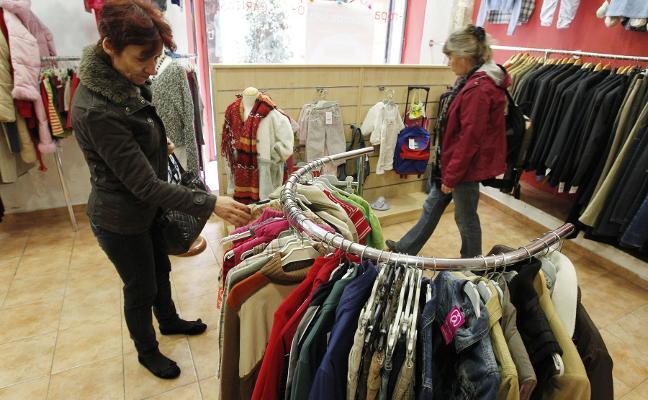 Toneladas de ropa solidaria