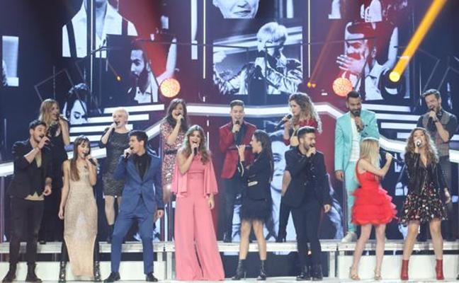 Todas las canciones y los explosivos dúos de la Gala especial de Operación Triunfo