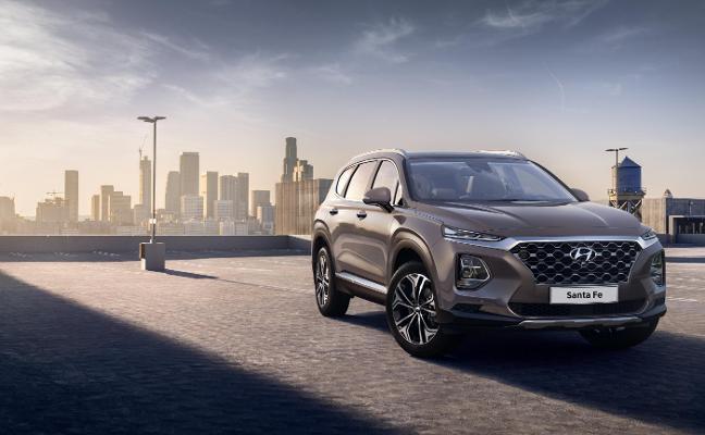 Hyundai anticipa el nuevo Santa Fe