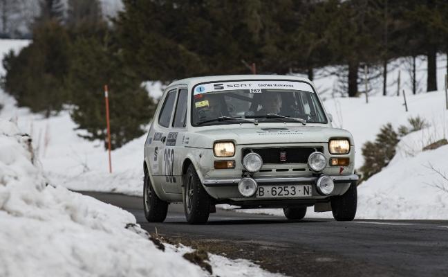Seat, protagonista en el Montecarlo Classic Rally