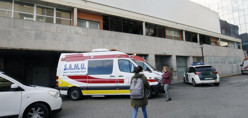 Las obras para mejorar la unidad de Urgencias del Hospital Clínico de Valencia se eternizan