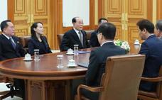 La hermana de Kim Jong-un invita al presidente surcoreano a una cumbre en Pyongyang