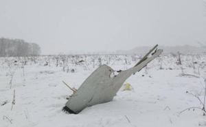Mueren los 71 pasajeros del avión que se ha estrellado en Rusia