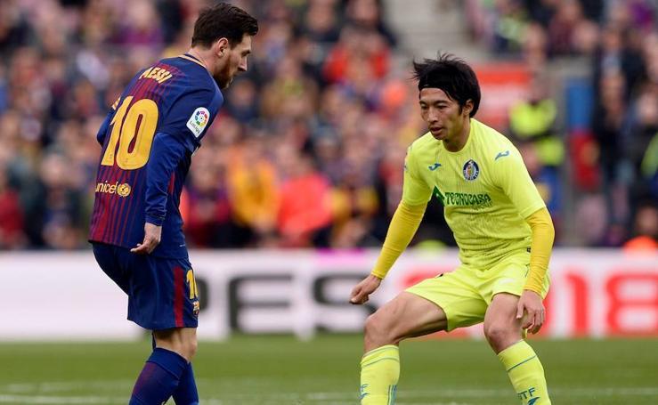 Las mejores imágenes del Barcelona-Getafe