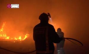 Un incendio amenaza el parque natural del Prat de Cabanes-Torreblanca