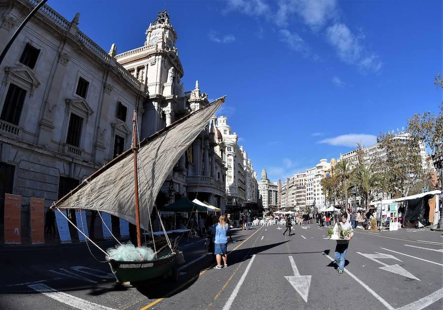 'De l'Horta a la Plaça' regresa a la plaza del Ayuntamiento