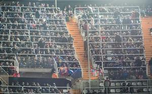 Un joven aficionado del Levante denuncia una agresión de seguidores del Valencia después del derbi