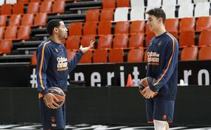 El Valencia Basket entrena con un ojo puesto en el CSD
