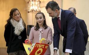 La conversación entre una niña valenciana y el Rey Felipe VI