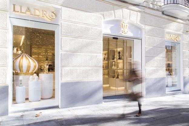 Lladró estrena un innovador espacio en la milla de oro de Madrid