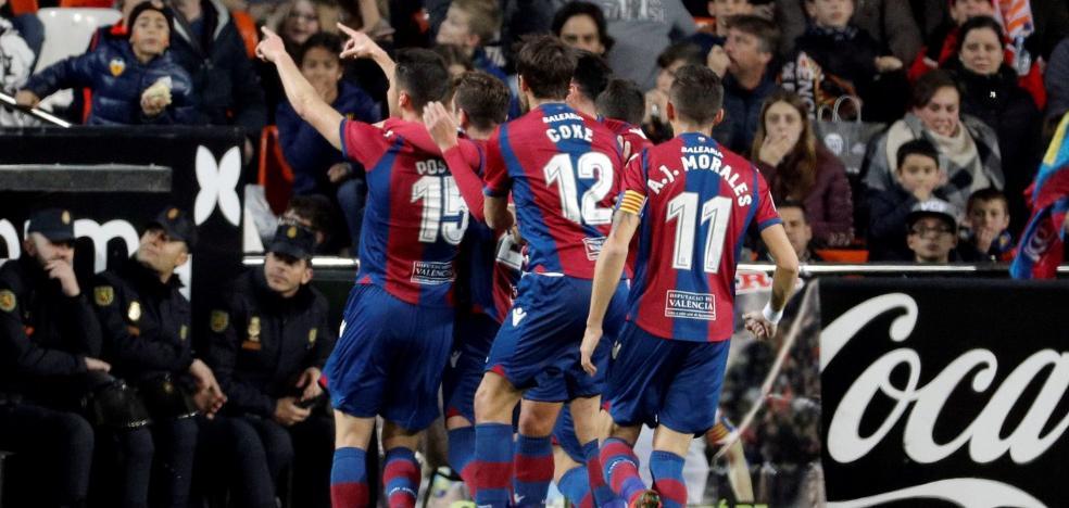 El solidario gol del Levante