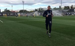 Rodrigo ya toca balón