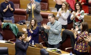 Les Corts aprueba la nueva ley de Plurilingüismo con el voto en contra de PP y Cs y sin las propuestas de padres y alumnos