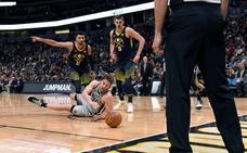 Pau Gasol no impide la derrota de los Spurs ante los Nuggets