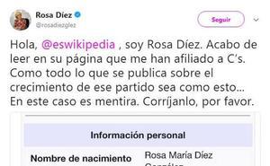 Rosa Díez contra Wikipedia