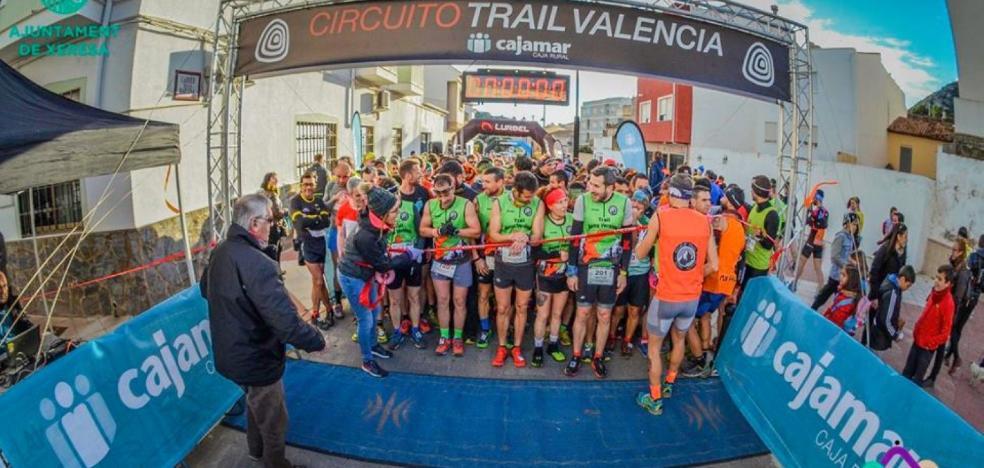 El trail Xeresa-Mondúver reúne a más de 500 atletas