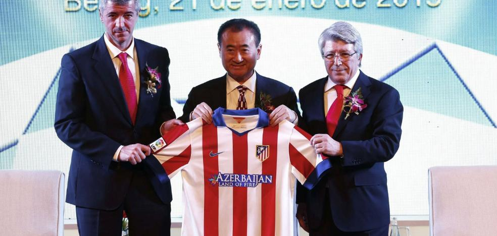 Wanda, que quiso comprar el Valencia, vende sus acciones del Atlético