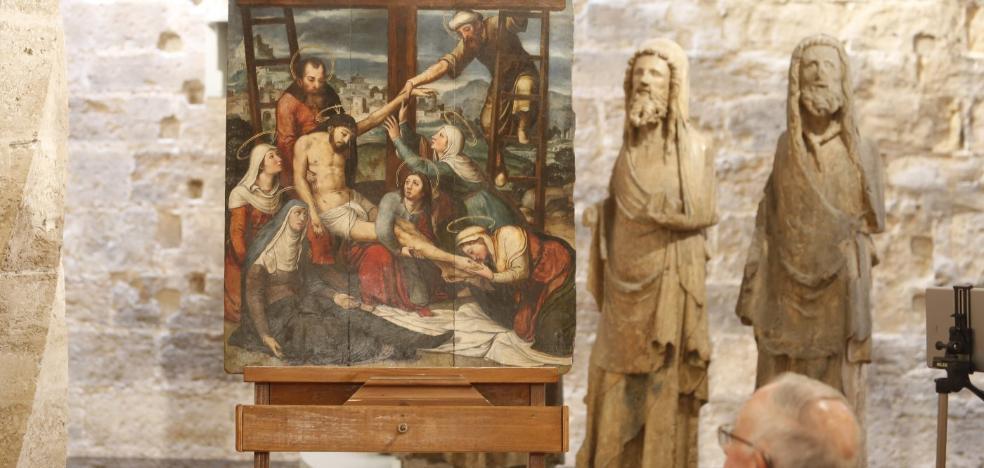'EL DESCENDIMIENTO' VUELVE AL MUSEO DE LA CATEDRAL