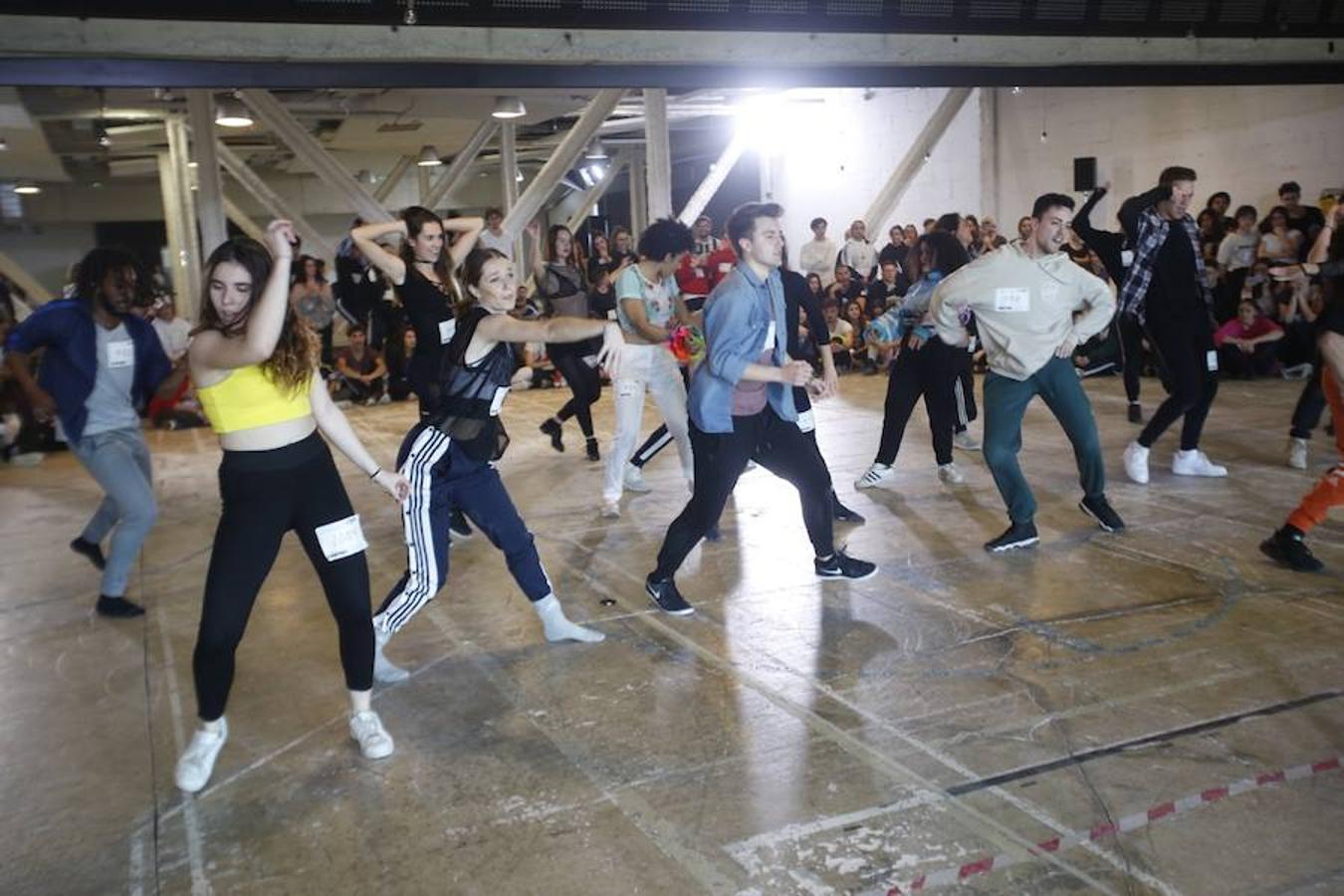 Fotos del casting de Fama en Valencia