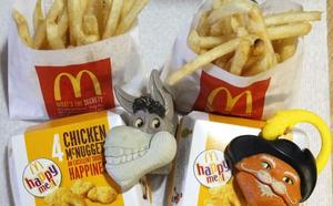 McDonald's pone a régimen tu Happy Meal