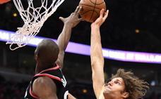 Ibaka y Mirotic destacan con aportaciones ganadoras a Raptors y Pelicans
