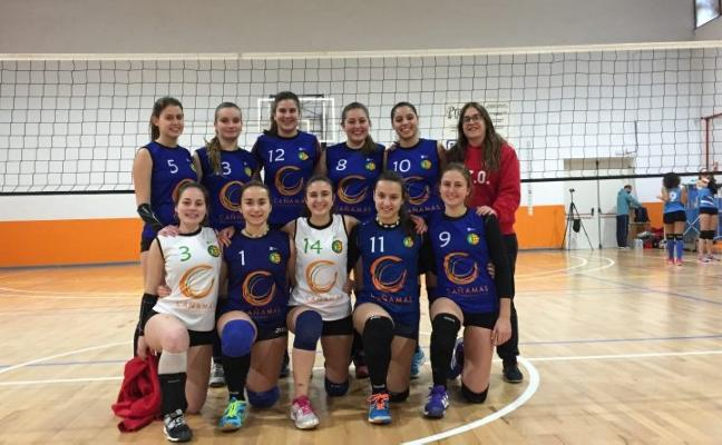 El Voley Oliva se impone en Sagunto y Alicante con los equipos juvenil y cadete