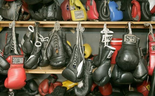 Los valencianos boxean en familia
