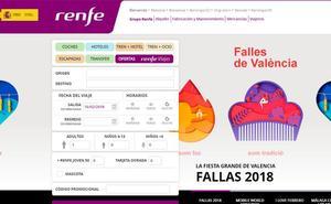 Cuatro horas sin poder comprar billetes de Renfe por un fallo en el sistema de venta