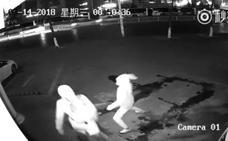 Un ladrón deja 'ko' a su compañero con un ladrillo al intentar romper un escaparate