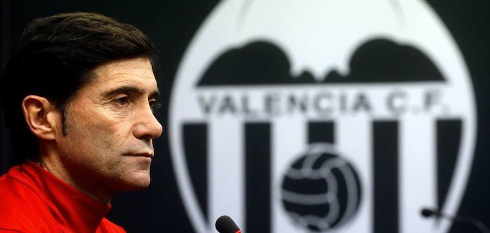 Marcelino: «Es evidente que nos preocupa encajar tantos goles»