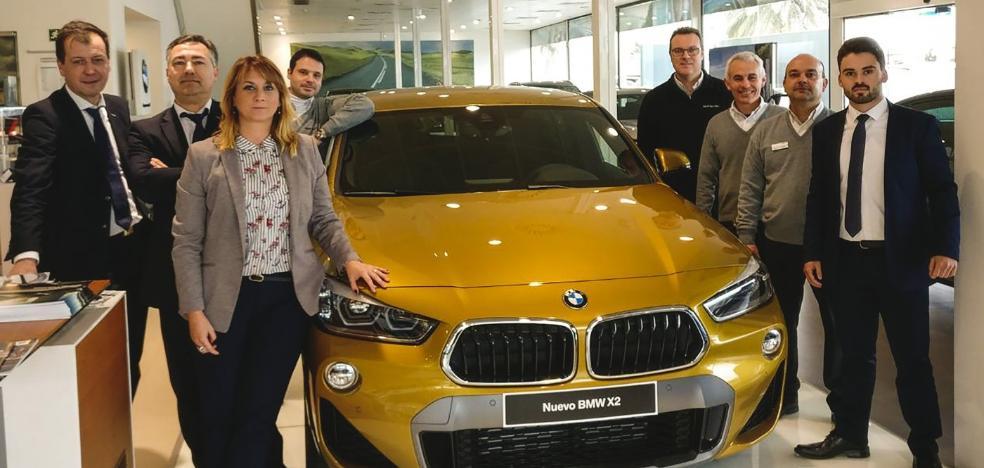 BMW Turival recibe el nuevo SUV coupé X2