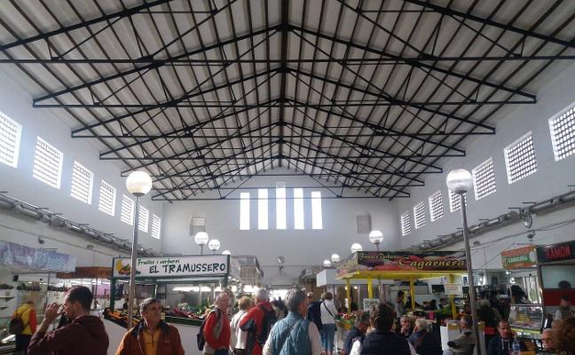 Apertura del mercado municipal tras las obras