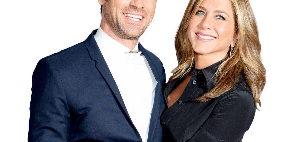 Jennifer Aniston y su marido deciden ser sólo 'friends'