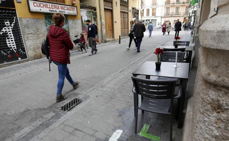 Fotos de nuevas terrazas en el Carmen